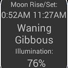 Moon Widget and Calendar icon