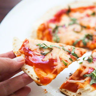 Skillet Tortilla Pizza