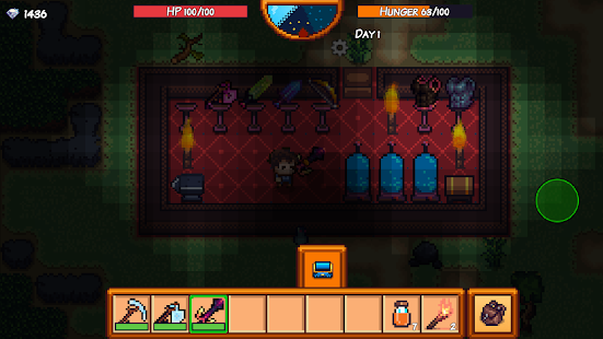 Pixel Survival Game 3 - náhled