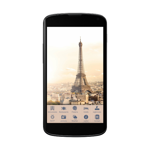 Paris city guide offline