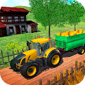 Farming Tractor  Harvest Real Simulator icon