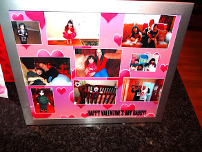 Photo: How pretty is our collage! I truly can't wait to give it to my husband for Valentine's Day!