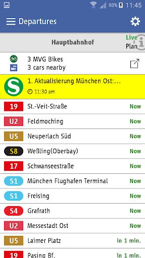 MVG Fahrinfo München 6.6.0_247 screenshots 6