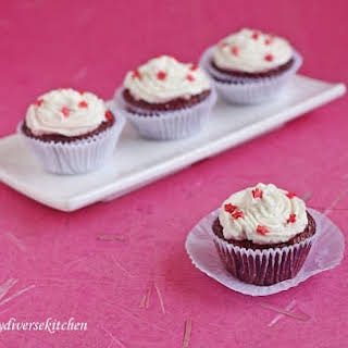 Got Beets In My Cake!!! – Eggless Red Velvet Cupcakes.