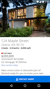 Zillow Real Estate & Rentals- screenshot thumbnail