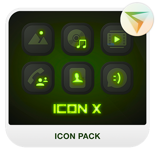 X LIME Icon Pack