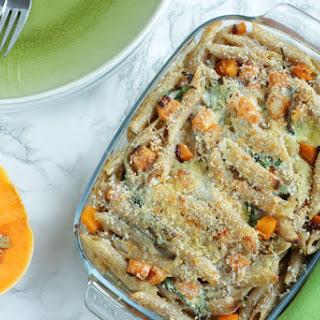 Squash and Ricotta Pasta Bake