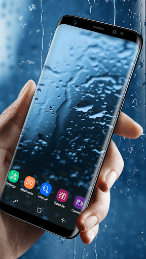 Waterdrops Live Wallpaper 2018 for PC