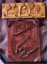 Photo: Tamaño: 26 x 71 cm. y 66 x 51 cm. || Talla en madera. Woodcarving.   Puedes conocer más de este artista en el blog: http://tallaenmadera-woodcarving-esculturas.blogspot.com/