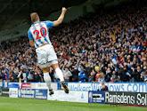 Laurent Depoitre won met Huddersfield Town met 2-1 van Manchester United