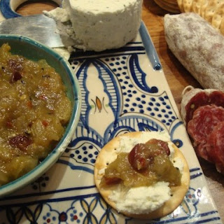 Maple Syrup Infused Green Tomato Chutney