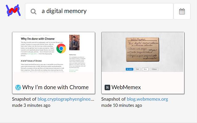 WebMemex