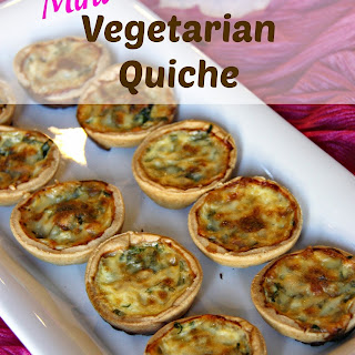 Mini Vegetarian Quiche