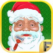 Santa Claus Shaving Beard Salon Adventure Free