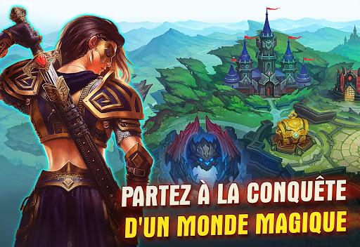Juggernaut Wars – RPG Arène. Tour par Tour  captures d'écran 5