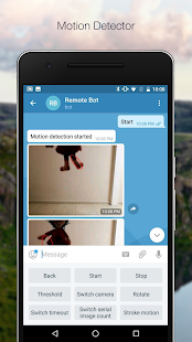Remote Bot for Telegram Screenshot