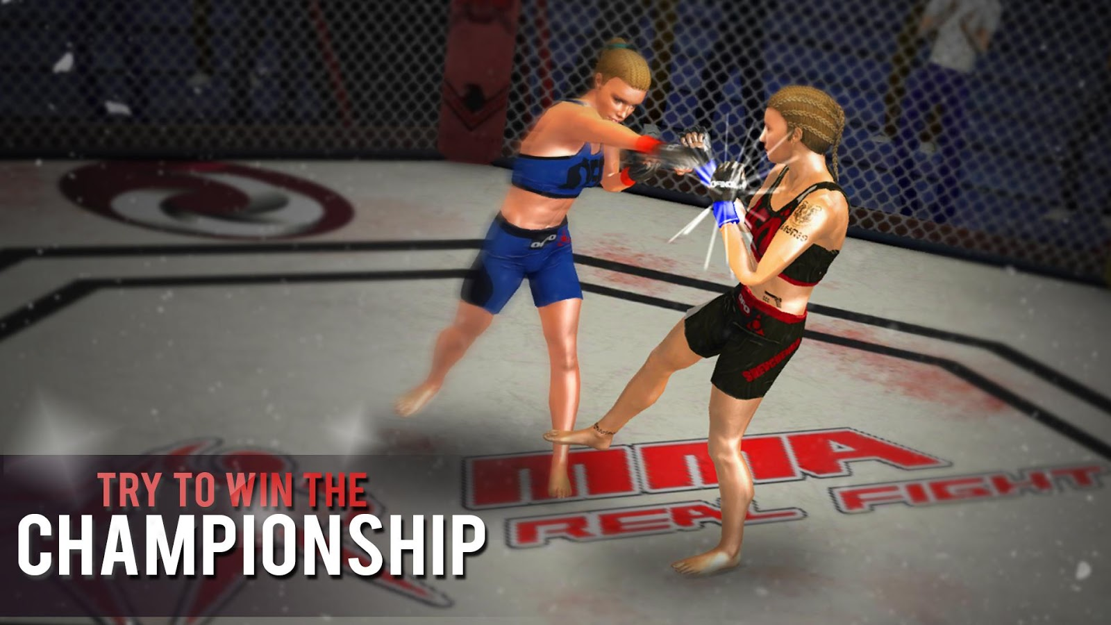 MMA Fighting Games: Girls Edition- screenshot