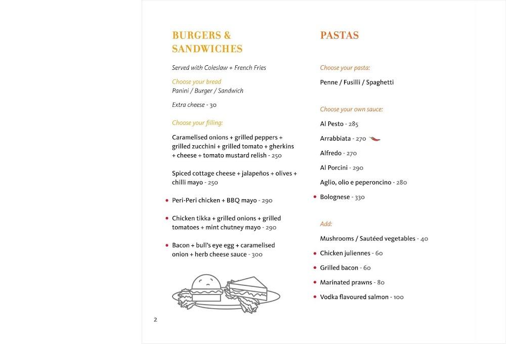 Mishmash menu 12