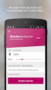 BundesArztsuche screenshot 0
