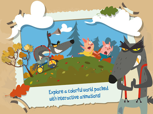 The Three Little Pigs Apps for Android screenshot