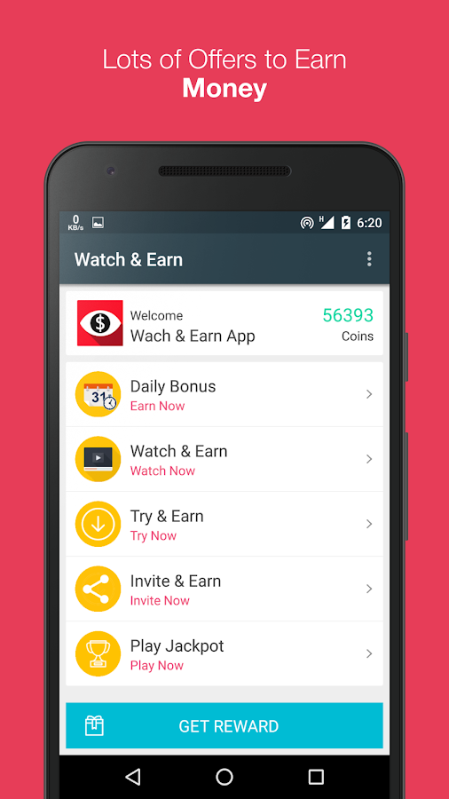 Watch & Earn - Earn Real Money- screenshot