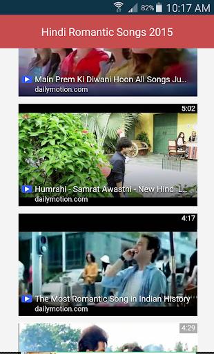 Hindi Romantic Songs 2015