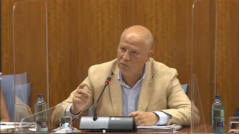Javier Imbroda, consejero de Educación.