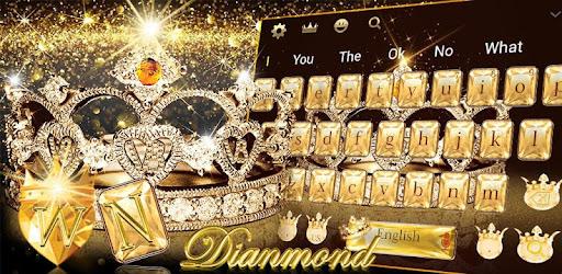 Gold Diamond Crown Keyboard Theme Apps On Google Play