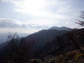 釈迦ヶ岳方面