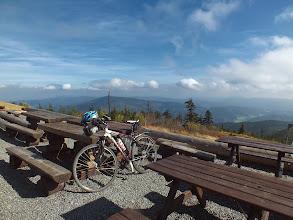 Photo: Dnes podruhé na Lysé hoře. Počasí se v tuto chvíli parádně vyvedlo.