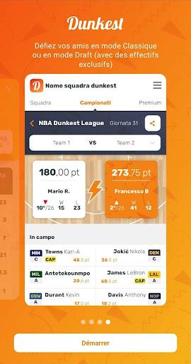 Télécharger Dunkest - Fantasy Basketball NBA et Euroligue apk mod screenshots 5