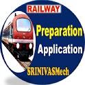 Railway Preparation App By SRINIVASMech icon