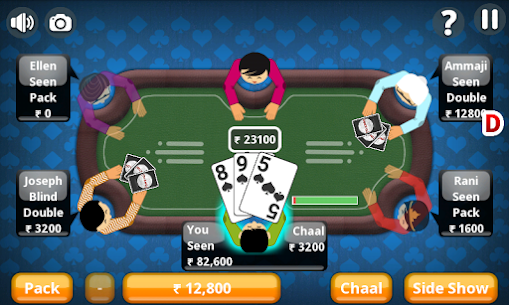 Teen Patti Offline Indian Poker 4.7 MOD + APK + DATA Download 3
