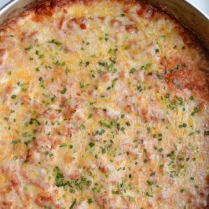 Mexican Cauliflower Rice Casserole
