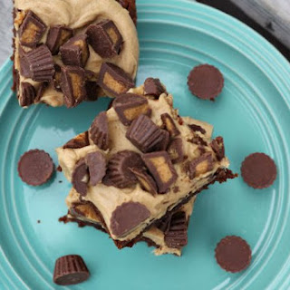 Reese's Peanut Butter Cup Explosion Brownies