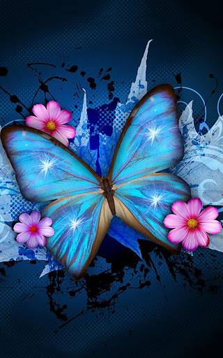 Download Shiny Butterfly Live Wallpaper On Pc Mac With