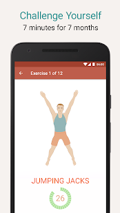 Seven - 7 Minute Workout Training Challenge- screenshot thumbnail