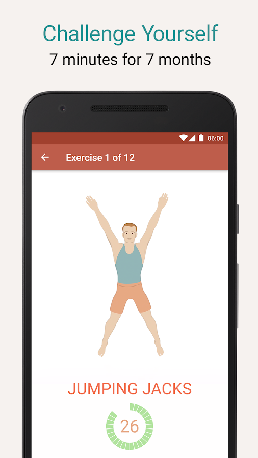 Seven - 7 Minute Workout Training Challenge- screenshot