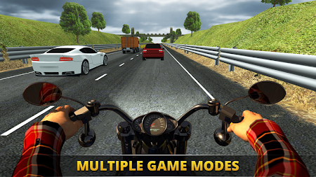 VR Ultimate Traffic Bike Racer 3D APK screenshot thumbnail 3