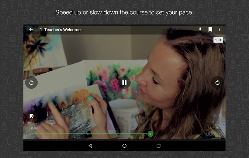 Screenshot 15 for Udemy's Android app'