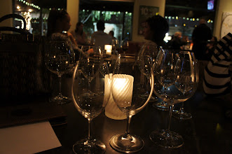 Photo: The glass depth and girth is important for bringing out the great flavors of wines.