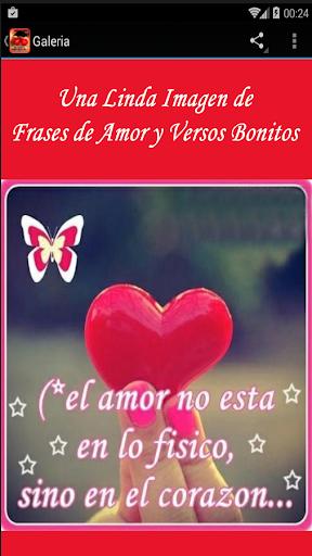 Frases de Amor y Versos Bonito screenshot 3
