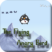the flying angry bird