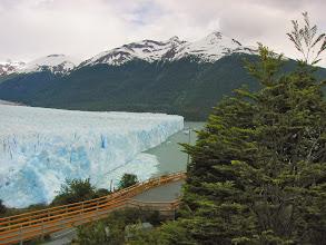 Photo: North face of the glacier