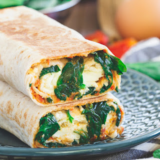 Homemade Starbucks Spinach & Feta Breakfast Wrap