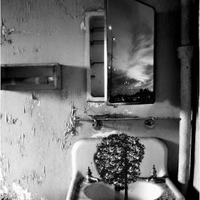 Persistence of Dreams Series-  by Melinda Amaral-Pimentel - Digital Art Places ( fantasy, eerie, surreal, horror, abandoned hospital )