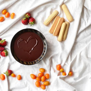 Cardamom-Orange Chocolate Fondue