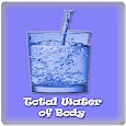 Total Water Of Body icon