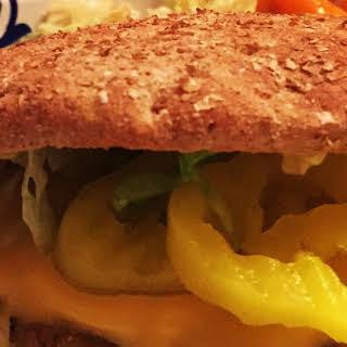 Panko Crusted Turkey Burgers.
