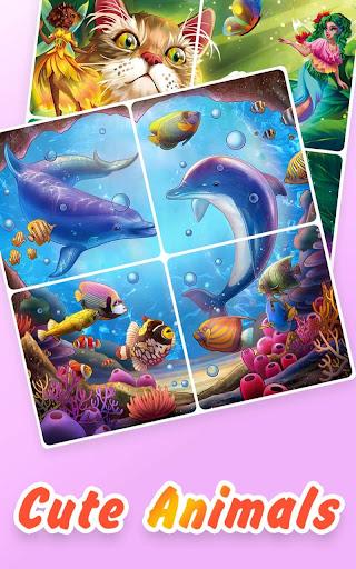 Jigsaw Coloring screenshot 2